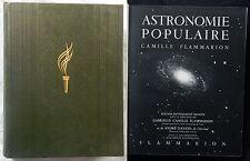 P/ ASTRONOMIE POPULAIRE Flammarion & Danjon 1955