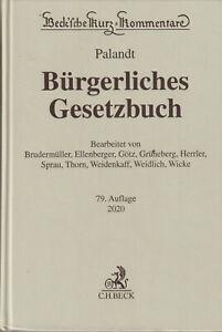 """Palandt : """" Bürgerliches Gesetzbuch """""""