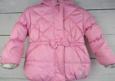 ZeroXposure ZX Girls Pink  Parka with Hood & Bow Jacket/Coat Size 24 M - H-0311