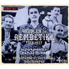 WOMEN OF REMBETIKA 1908-1947 4 CD NEUF