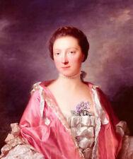 Dream-art oil Allan Ramsay - portrait of elizabeth gunning duchess of argyll