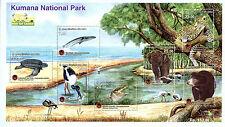 Sri Lanka 2015 MNH Kumana National Park 7v M/S Elephants Turtles Bears Stamps