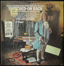 "WALTER CARLOS ""Switched-on Bach"" Columbia Masterworks MS 7194 VG++/EX Classical"