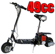 Fastest New 49cc 2-Stroke Gas Motor Scooter