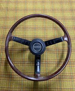 Datsun70- 8.71 240Z 'Series 1' Steering Wheel