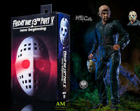 NECA - FRIDAY THE 13th PART V - ULTIMATE ROY BURNS - JASON FIGUR - NEU/OVP