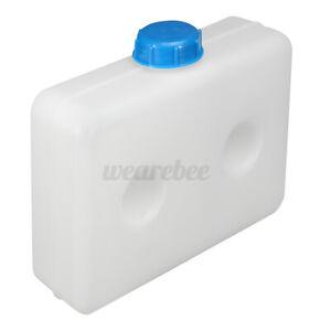 5.5L Car Truck Fuel Oil Gasoline Tank Air Diesel Parking Heater container White