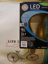 GE 92145 10.5W Soft White 60W Equivalent  LED Outdoor Post Light Bulb