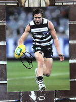 MITCH DUNCAN  PERSONALLY handsigned GEELONG CATS  AFL photo 8X6