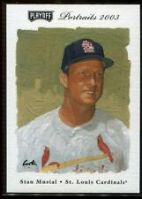 2003 Playoff Portraits Beckett Samples 84 Stan Musial Sample Promo