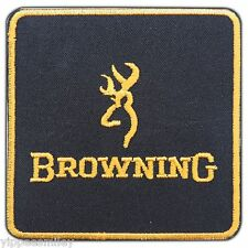 BROWNING Gun Pistol Firearms Weapons Handgun Embroidered Iron-On Patches #0574