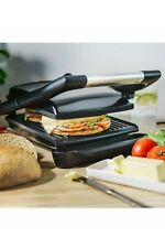 Grill - Electric Panini Sandwich, Stainless Steel-NEW-