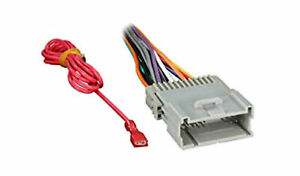 Wire Harness for replacing stereo on Select GMC Chevy Hummer Hyundai