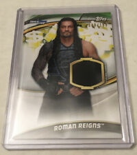 2019 Topps WWE Wrestling Money in the Bank Shirt Relic Card ROMAN REIGNS /199
