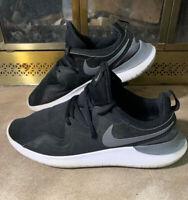 Nike Air Tessen Black Cool Grey White AA2160 001 Mens Sz 9.5 Swoosh Gym Running