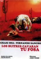LOS BUITRES CAVARAN TU FOSA (DVD PRECINTADO IMPORTACIÓN) CRAIG HILL - FERNANDO S