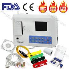 CONTEC ECG300G digitale 3 canali 12 ECG elettrocardiografo portatile,USB,stampan