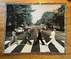 """The Beatles Abbey Road Throw Blanket Tapestry Woven 58""""x48"""" RARE"""