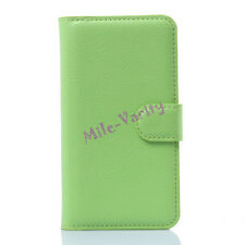 New Magnetic Flip Stand Card Wallet PU Leather Case Cover for HTC Desire Phones
