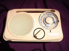 PORTABLE  RADIO WHITE TERRIS AM/FM KITCHEN RADIO EC-EDC-01 WITH MANUAL