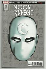 Moon Knight #188 Mike McKone 1:10 Headshot Variant Marvel Legacy 2017