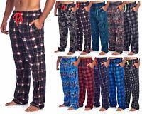 Ashford & Brooks Mens Mink Fleece Sleep Lounge Pajama Pant Bottoms Pjs Pants