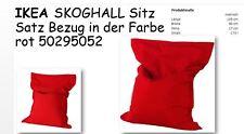 IKEA SKOGHALL SITZ SACK BEZUG ROT NEU+OVP 50295052