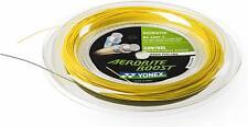 Genuine YONEX Aerobite Boost Hybrid Badminton String Reel BG Abbt-2 Gray Yellow