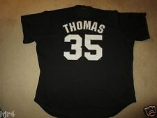 Frank Thomas 2005 Chicago White Sox Black MLB Jersey 2XL mens