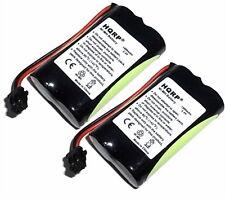 HQRP Two Phone Battery Replacement for Uniden BT1015  BT904  BT1007  BP904