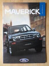 FORD MAVERICK 1996 UK Mkt sales brochure - GLS SWB LWB - Edition 2