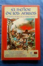 El Señor de los Anillos y Vampiro, la mascarada. Libro juego Rol.