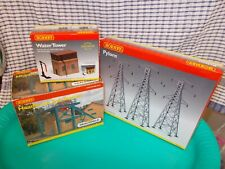 More details for hornby 00 gauge job lot - sub station, water tower and pylons - new