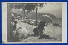 LA QUADRIENNALE 1923 Salon d'Arte Ajmone Lidio Intorno alla nonna  NV f/p #21618
