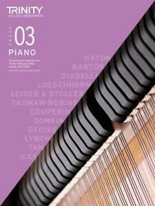 Trinity College Piano Pieces & Exercises 2021-23 Grade 3