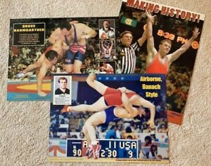 NEW WRESTLING posters Bruce Baumgartner Ed Banach Pat Smith Freestyle Collegiate