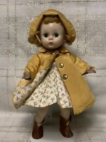 1956 Madame Alexander Kins Doll, Wendy Ready for Any Weather, Alex, BK Walker