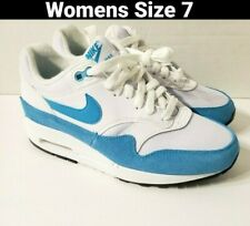 Nike Air Max 1 Atomic Teal Running Shoes Size 7 Womens 319986-117