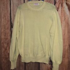 EUC MENS VTG MADE IN USA BROOKS BROTHERS CREWNECK SWEATER SHIRT 42 MEDIUM