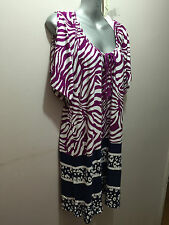BNWT Womens Sz 14 Autograph Brand Stunning Peasant Summer Tunic Top RRP $60