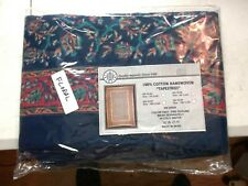 New India Arts Floral Tapestry Fabric Wall Hanging Bedspread