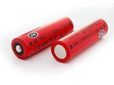 2 Pcs AW IMR 18650 Li-Mn 2000 mAh High Drain Battery 3.7 V Rechargeable