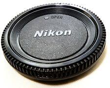 Camera Body Cap made in China for NIKON F D3200 D3100 3300 D5100 D5200 D200 D300