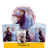 Disney FROZEN 2 Birthday PARTY Range - Tableware Supplies Decorations PROCOS