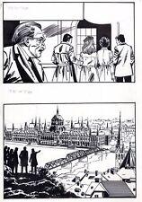 COPLAN EMBUSCADE (DESSINS JULLIAN)  PLANCHE ORIGINALE INEDITE AREDIT PAGE 54