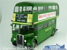 AEC REGENT III LONDON COUNTRY MODEL BUS 1:43 SCALE IXO ROUTE 406 TRANSPORT K8