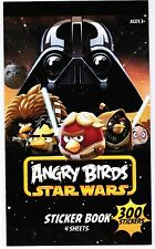 ANGRY BIRDS Star Wars 4 large Sheets 300 stickers