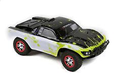 Custom Body Muddy Green WB for Traxxas 1/10 Slash Truck Car Shell Cover 1:10