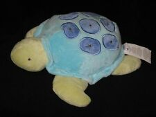 NoJo Plush Turtle Sea Babies Stuffed Animal Baby Lovey Green Blue 14""
