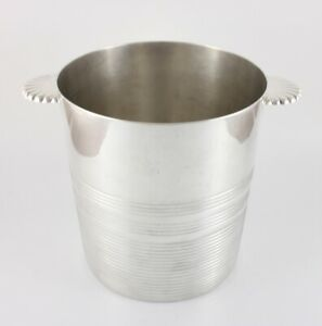Ercuis France Silver Plated Wine Cooler. Champagne Ice Bucket. c1930 Vintage